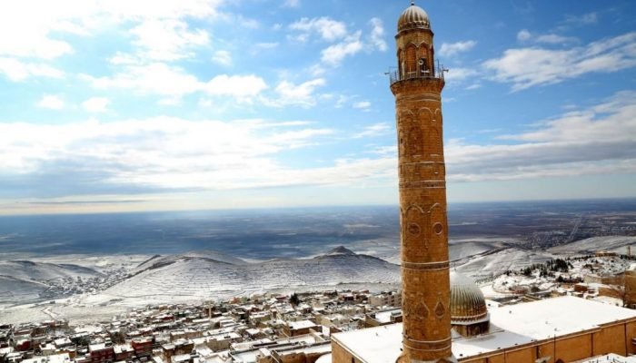 we're going to Mardin with Shafak Gokturk, Sumerian city in Anatolia
