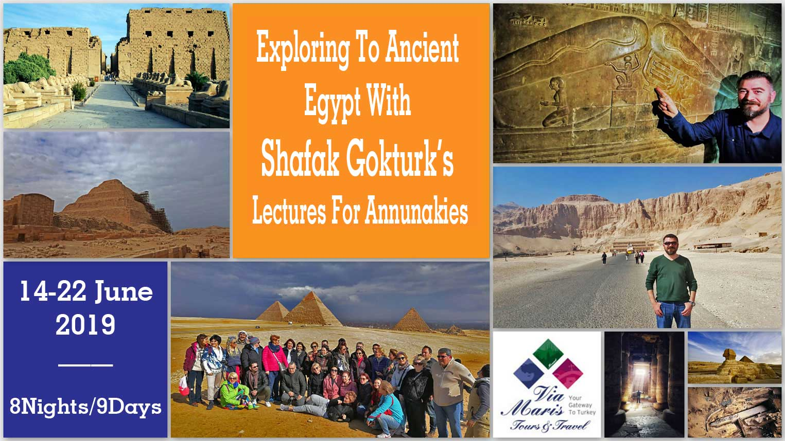 Exploring To Ancient Egypt With Shafak Gokturk