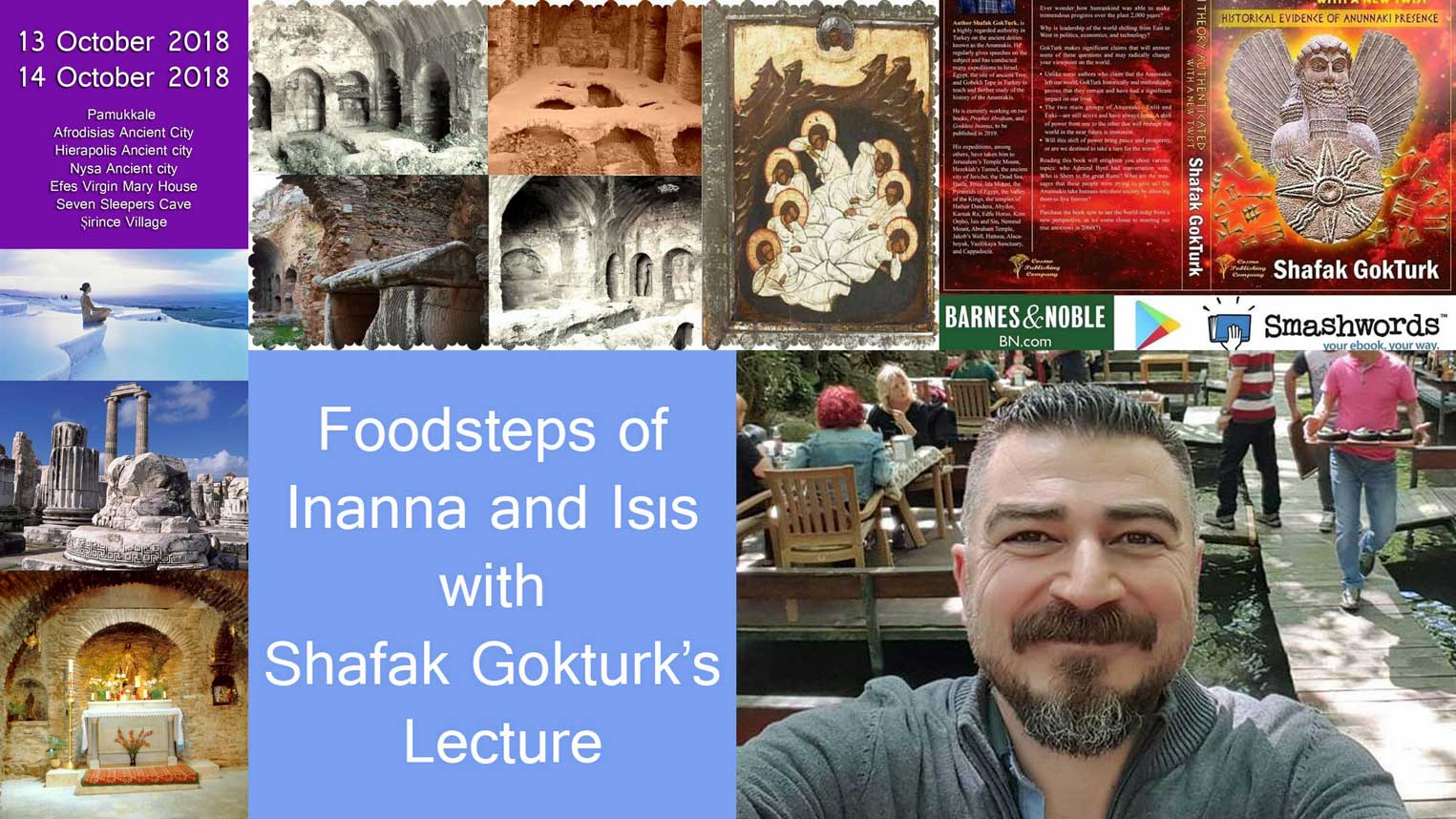 Foodsteps of Inanna and Isıs with Shafak Gokturk's Lecture
