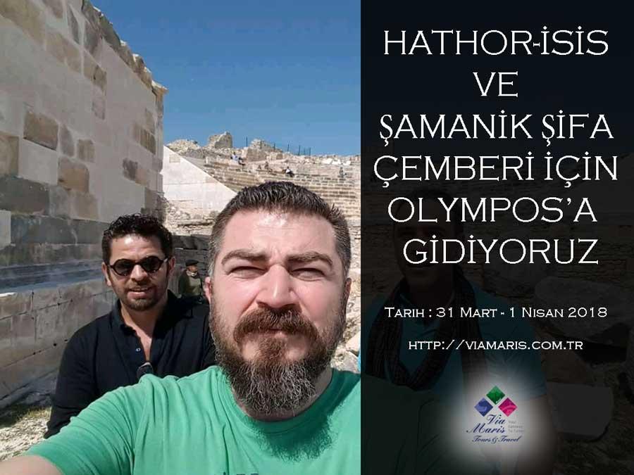 HATHOR-İSİS VE ŞAMANİK ŞİFA ÇEMBERİ İÇİN OLYMPOS'A GİDİYORUZ