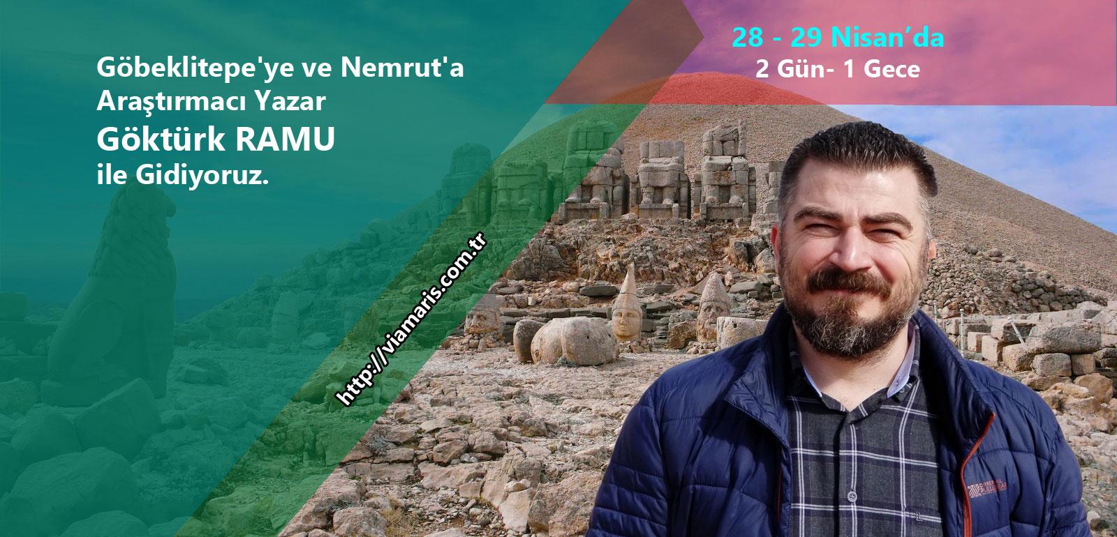 Göbeklitepe'ye ve Nemrut'a GÖKTÜRK RAMU ile Gidiyoruz.