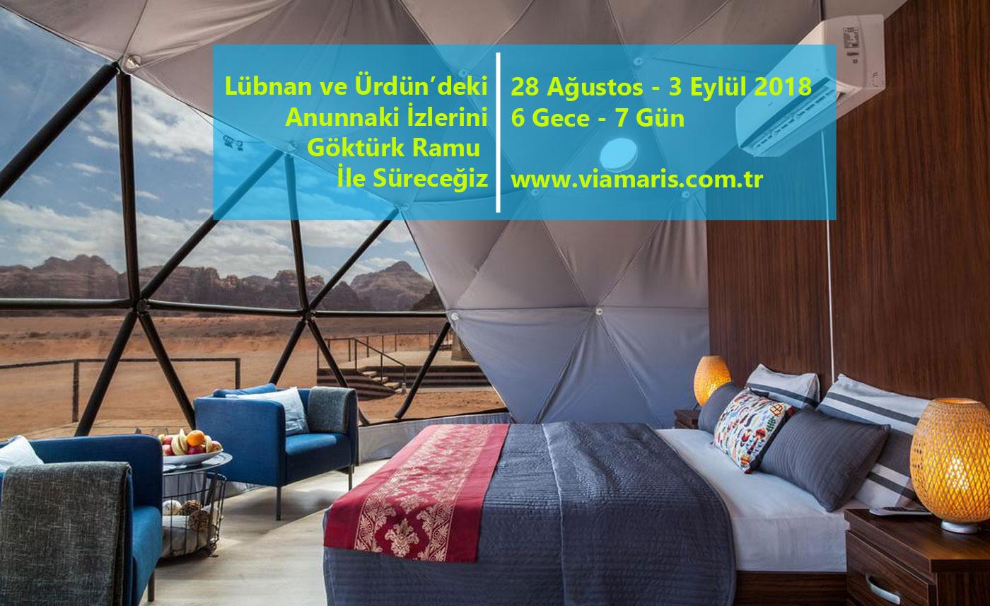 Göktürk Ramu ile Ürdün ve Lübnan Turu