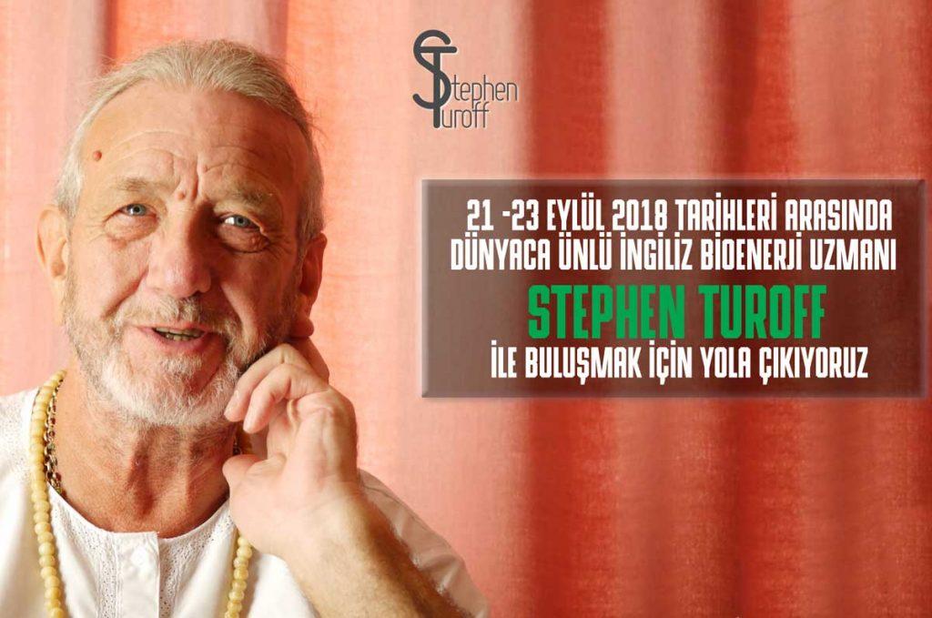 Dünyaca ünlü İngiliz bioenerji uzmanı Stephen Turoff