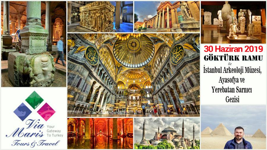 İstanbul Ayasofya Sultanahmet ve Arkeoloji Muzesi Gezisi