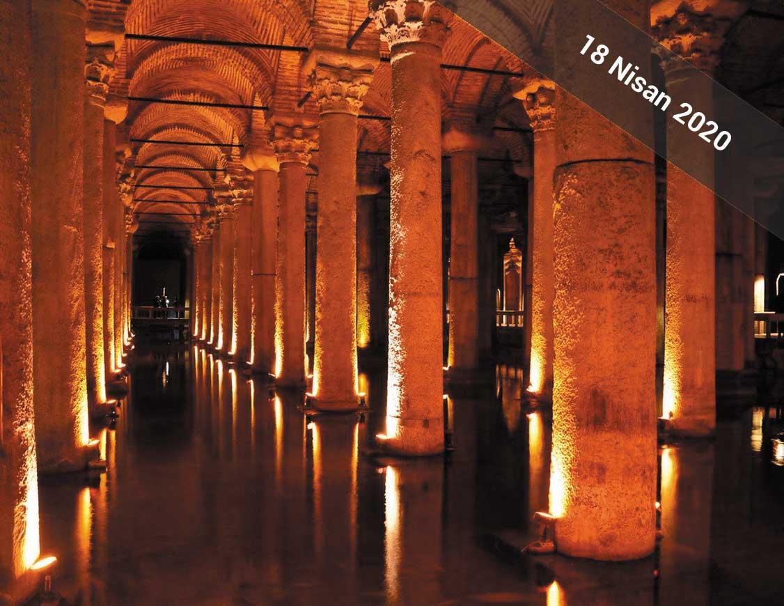 Araştırmacı Yazar Gök Türk'ün anlatımıyla 18 Nisan 2020'de İstanbul Arkeoloji Müzesi, Ayasofya ve Yerebatan Sarnıcı Gezisi