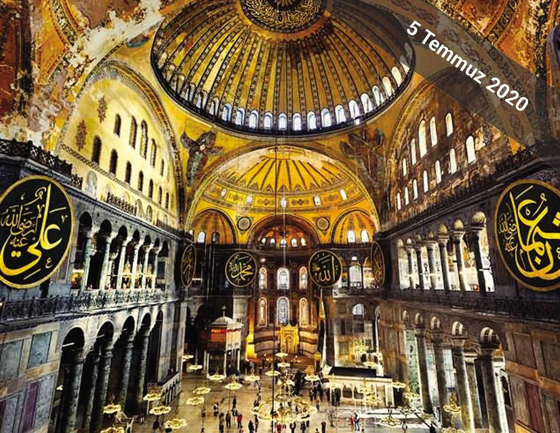 Araştırmacı Yazar Gök Türk'ün anlatımıyla 5 Temmuz 2020'de İstanbul Arkeoloji Müzesi, Ayasofya ve Yerebatan Sarnıcı Gezisi