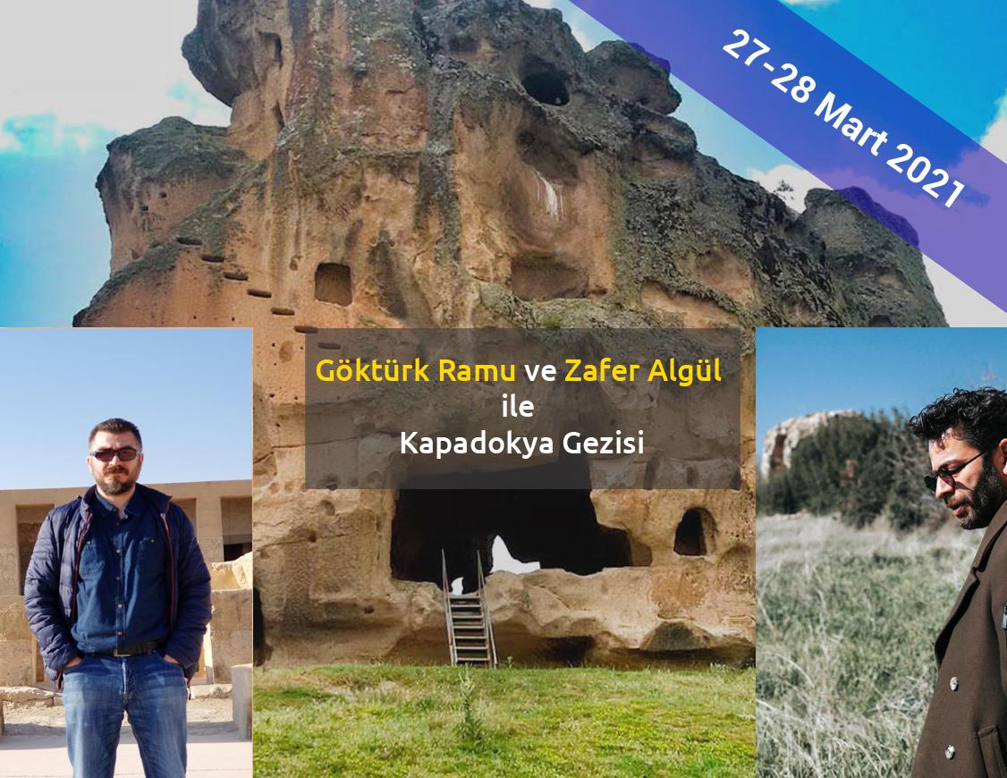 Göktürk Ramu ve Zafer Algül ile Kapadokya