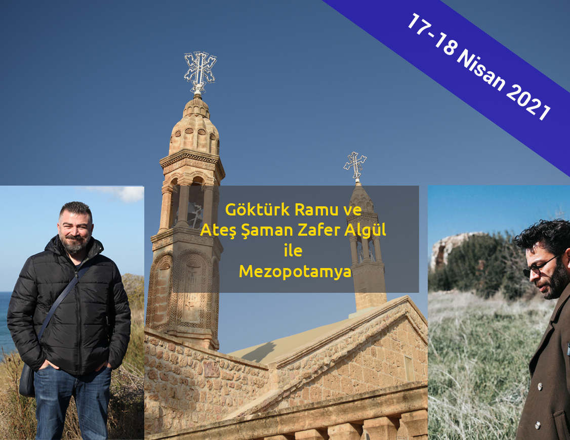 Gokturk Ramu ve Zafer Algul ile Mardin, Batman, Diyarbakir Gezisi