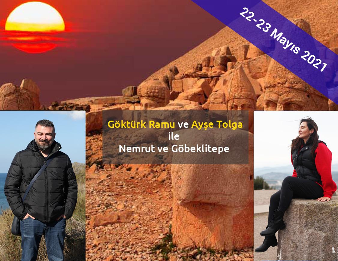 Göktürk Ramu ve Ayşe Tolga ile Gobeklitepe Nemrut Gezisi