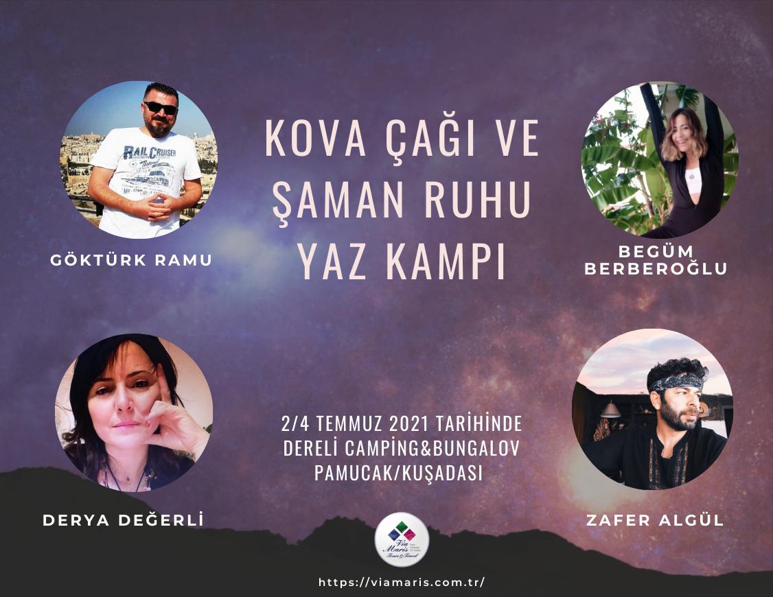 Kova Çağı ve Şaman Ruhu Yaz Kampı