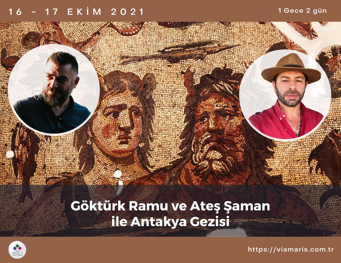 Gokturk Ramu ve Zafer Algul ile Antakya Gezisi